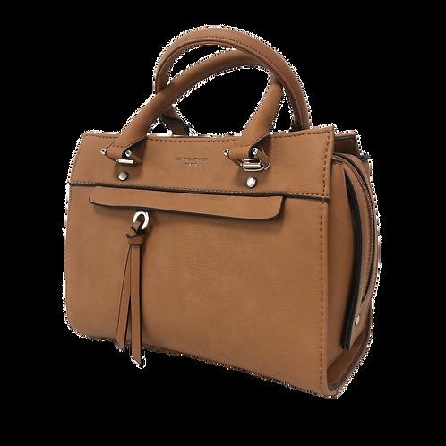 DAVID JONES Cognac Bag