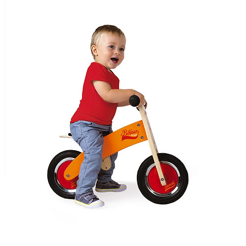JANOD Little Bikloon My First Orange and Red Balance Bike