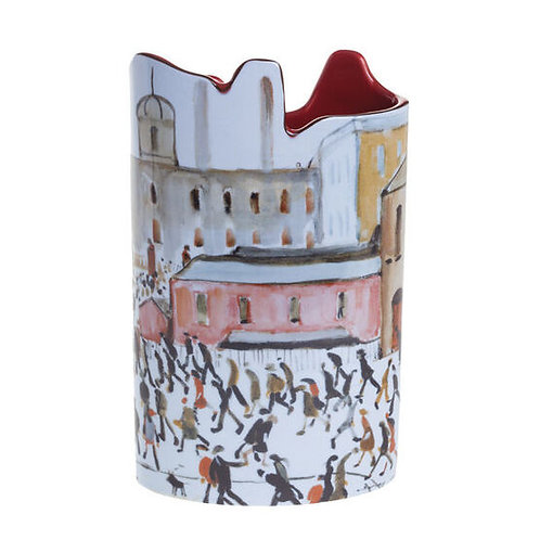 LOWRY Going To Work Vase