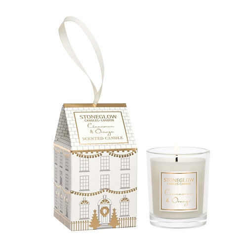 STONEGLOW Cinnamon & Orange Votive House