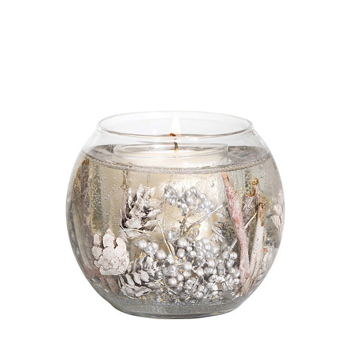 STONEGLOW White Cashmere & Pear Natural Wax Fish Bowl