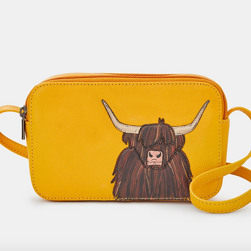 YOSHI Highland Cow Cross Body Bag