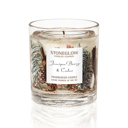 STONEGLOW Juniper Berry Tumbler Candle