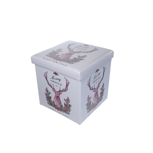 FESTIVE Foldable Reindeer Storage Box