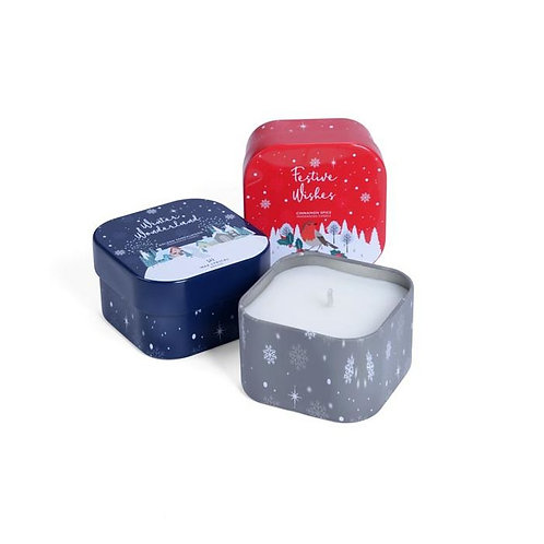 WAX LYRICAL Winter Wonderland Tin Candle