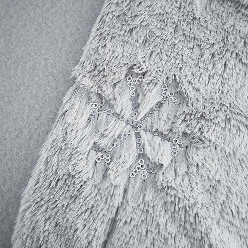 CATHERINE LANSFIELD  Cosy Snowflake Single Duvet Cover