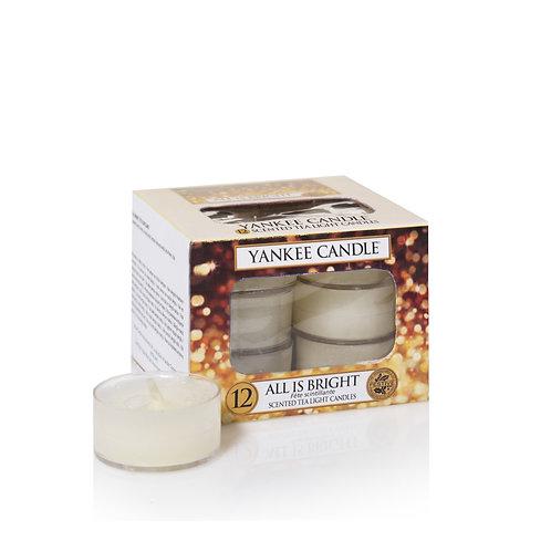 YANKEE Christmas Tea-lights Box