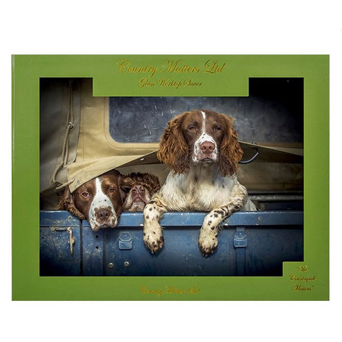 COUNTRY MATTERS Worktop Saver - Spaniels in Landy
