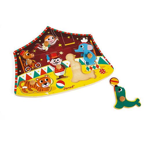 JANOD Stars Circus Puzzle 6 pieces