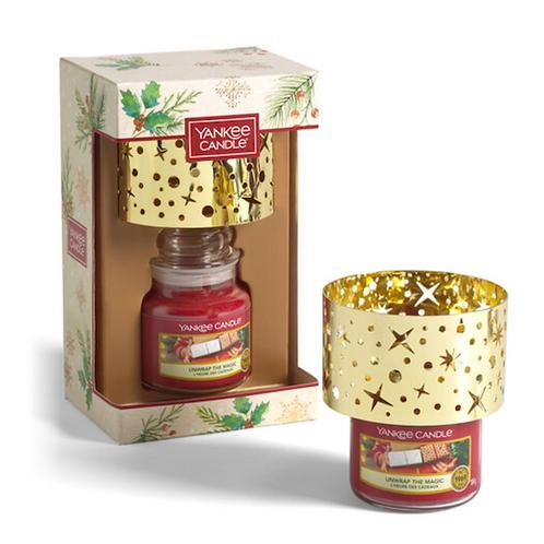 YANKEE CANDLE Small Jar Candle & Shade