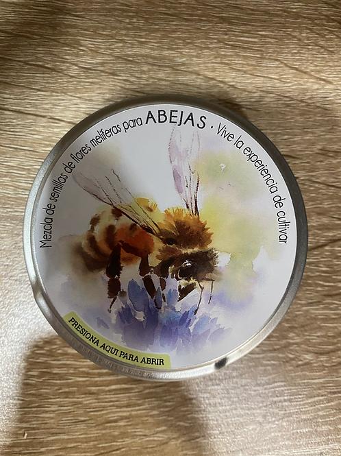 Mezcla de semillas de flores melíferas para abejas