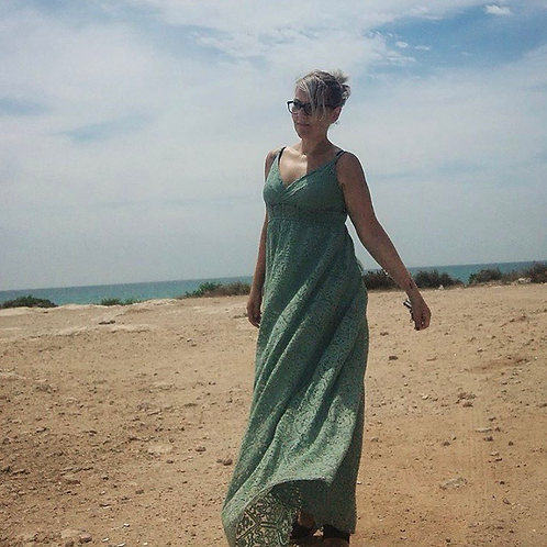 Vestido Sahara tirantes