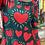 Thumbnail: Vestido love largo verde oscuro
