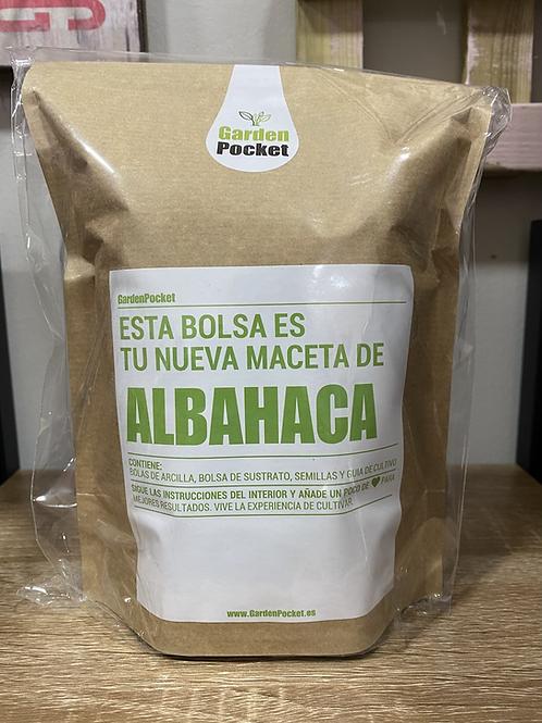 Kit huerto albahaca
