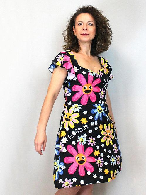 Vestido florece