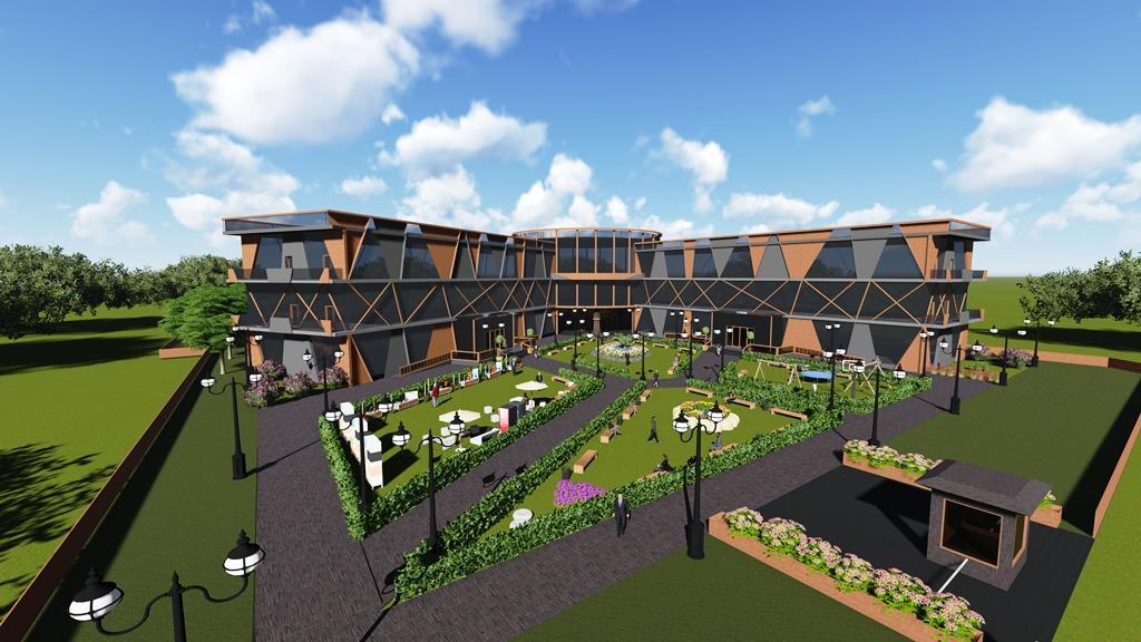 Belediye Hizmet Binası Projesi