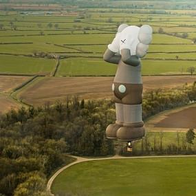 KAWS Hot Air Balloon