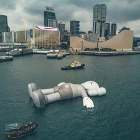 KAWS floating companion