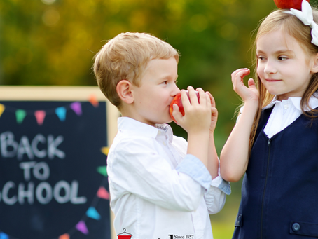 September 2019: 20% off back-to-school garments