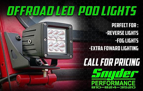 LED Pod Offroad Lights