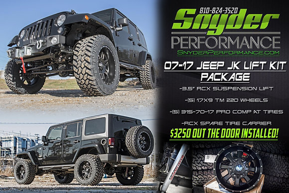 Jeep JK Lift Package