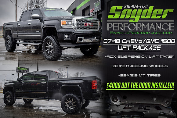 GMC/Chevy 1500 Lift package