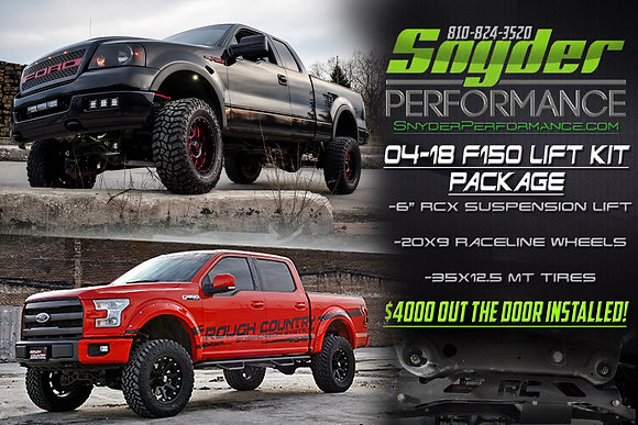 2004-2018 F150 Lift Package