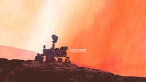 Nasa เผยวิดีโอแสดงการลงจอดบนดาวอังคารของยาน Perseverance