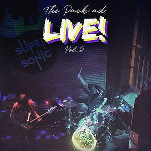 The Pack AD - Live! Vol 2 - Cover Art 14