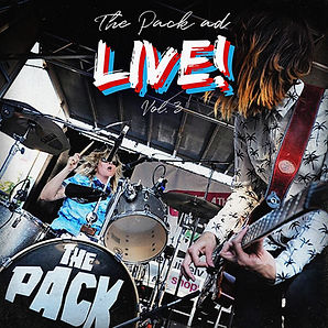 The Pack AD - Live! Vol 3 - Cover Art140