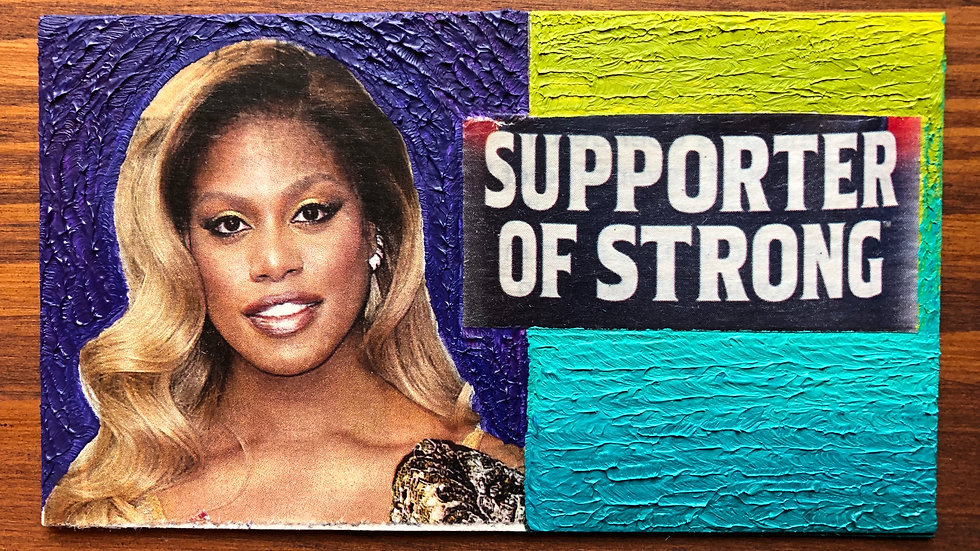 Supporter of Strong