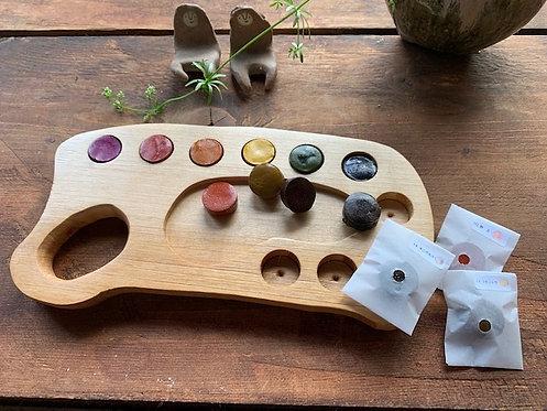 木製パレット用マカロン絵の具