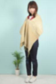 蓮ストール-[蓮×シルク-約180cm×約40cm-(縦×横)]-(Lotus-