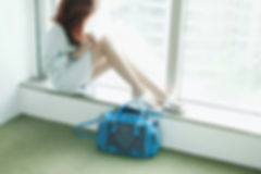 Jetstar bag blue with woman .jpg
