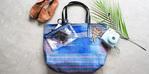 トートバッグ-Abaca-Pinangabol(ブルー)-1000-500-mi