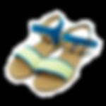 レディース-サンダル--Kiss-2019-イエローグリーン-min.png