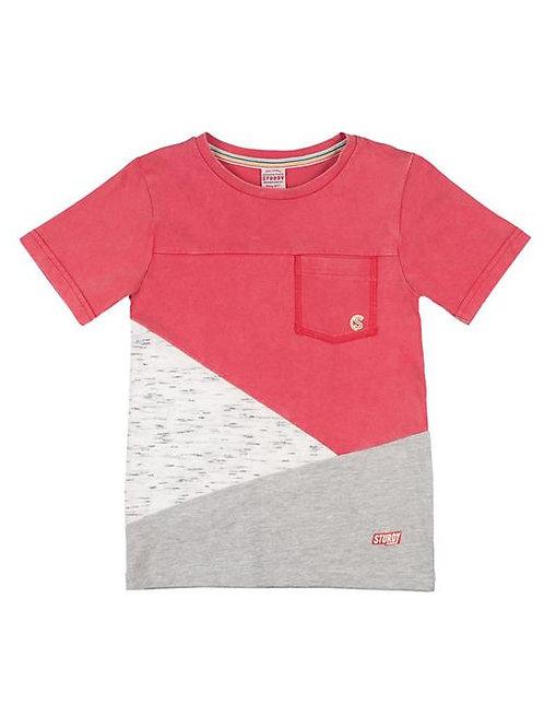 T-Shirt rouge Sturdy