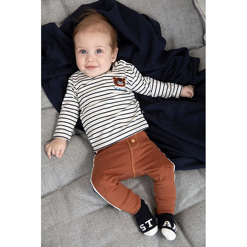Pantalon brun Feetje
