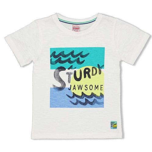 T-Shirt blanc Sturdy