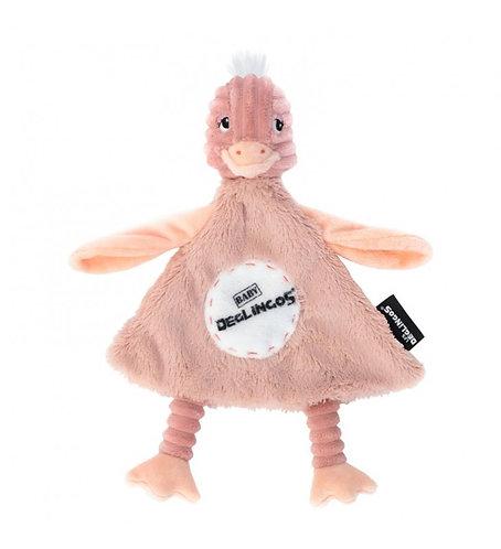 Doudou baby Pomelos l'autruche