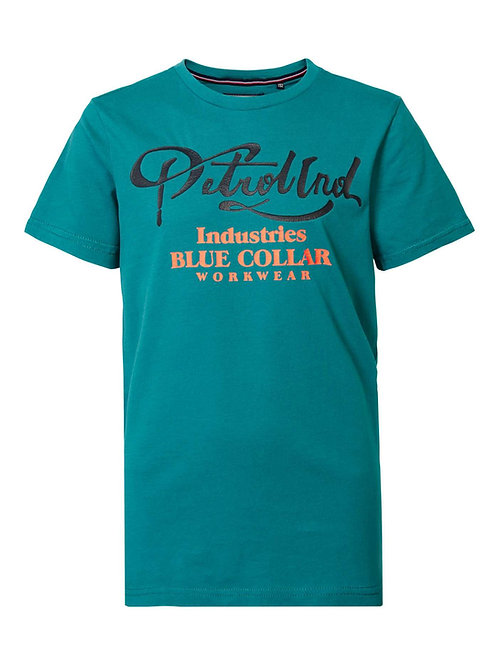 T-Shirt vert Petrol