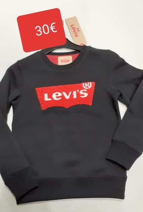 Sweat mixte noir Levi's