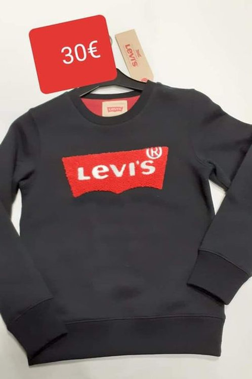 Sweat mixte noir Levi's