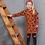 Thumbnail: Robe rouille léopard Jubel