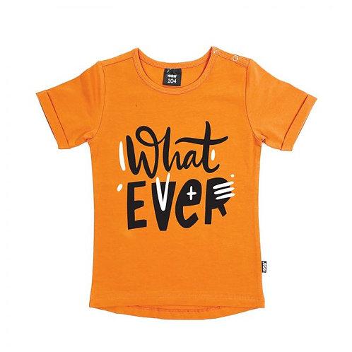 T-Shirt orange KMDB