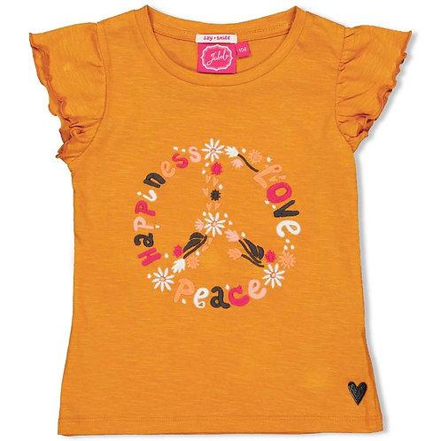 T-shirt ocre Jubel