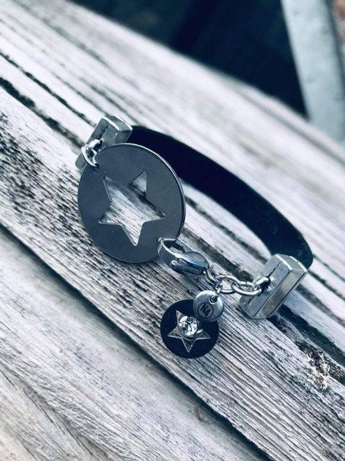 Bracelet cuir N4