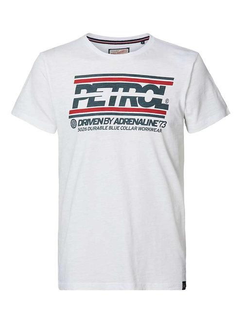 T-Shirt blanc Petrol