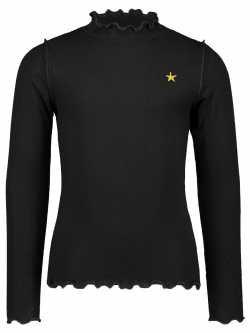 T-Shirt col montant noir Like Flo