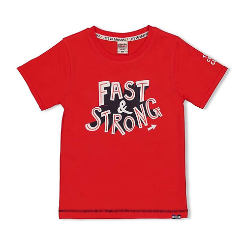 T-Shirt rouge Sturdy